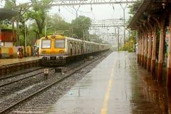 Viaggio di monsone Fotografia Stock