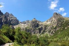 Viaggio di Montain Fotografia Stock
