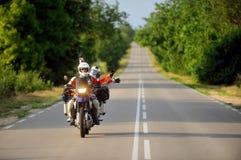 Viaggio di motociclismo di avventura immagine stock libera da diritti