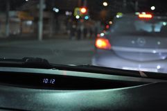 10: Viaggio di notte di MEZZANOTTE immagini stock