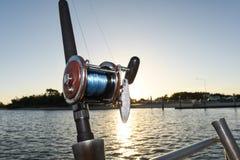 Viaggio di pesca Immagini Stock