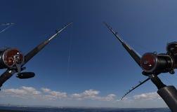 Viaggio di pesca Immagine Stock Libera da Diritti