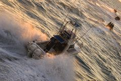 Viaggio di pesca Immagine Stock