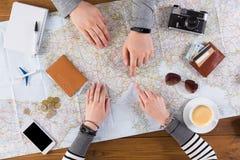 Viaggio di pianificazione delle coppie a Ginevra, Svizzera Fotografie Stock Libere da Diritti