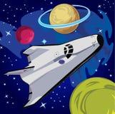 Viaggio di Starship Fotografia Stock Libera da Diritti