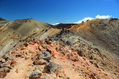 Viaggio di Tongariro Fotografie Stock