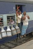 Viaggio di treno Immagine Stock