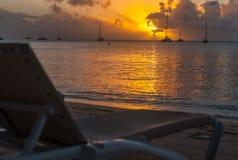 Viaggio di turismo di tramonto Fotografia Stock