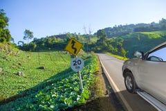 Viaggio di verdure del paese Immagini Stock
