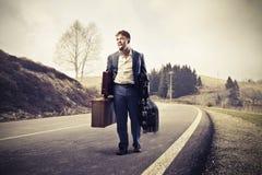 Viaggio duro Immagini Stock Libere da Diritti