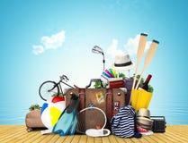 Viaggio e turismo Immagine Stock
