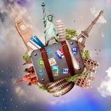 Viaggio e viaggio Fotografia Stock