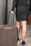 Viaggio femminile Fotografia Stock