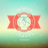 Viaggio intorno al mondo Immagini Stock