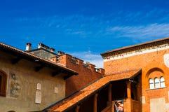 Viaggio in Italia: Novara, Piemonte Immagine Stock