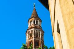 Viaggio in Italia: Novara, Piemonte Immagini Stock Libere da Diritti