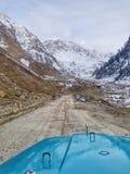 Viaggio in jeep fotografie stock