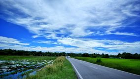 Viaggio lungo Fotografie Stock