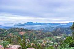 Viaggio in montagne dello Sri Lanka fotografia stock