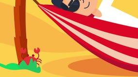 Viaggio nell'animazione di vacanza royalty illustrazione gratis