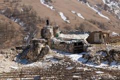 Viaggio nelle montagne di Caucaso Immagini Stock
