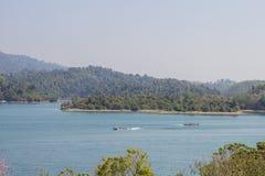Viaggio in piccole barche Fotografie Stock