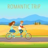 Viaggio romantico Immagini Stock Libere da Diritti