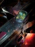 Viaggio spaziale Fotografie Stock