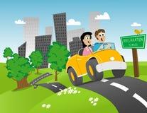 Viaggio stradale Immagine Stock Libera da Diritti
