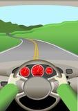 Viaggio stradale Fotografie Stock Libere da Diritti