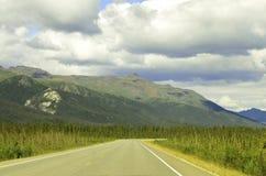 Viaggio stradale Alaska Immagine Stock Libera da Diritti