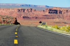 Viaggio stradale in Arizona, U.S.A. Fotografia Stock Libera da Diritti