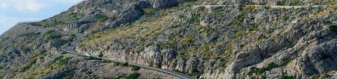 Viaggio stradale attraverso Mallorca Fotografia Stock Libera da Diritti