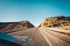 Viaggio stradale a Cappadocia, Turchia Fotografie Stock