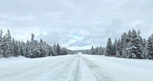 Viaggio stradale del Montana fotografie stock