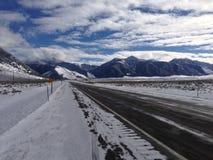 Viaggio stradale del Montana immagine stock libera da diritti