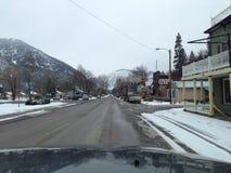 Viaggio stradale del Montana fotografia stock libera da diritti
