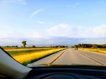 Viaggio stradale di viaggio fotografia stock libera da diritti