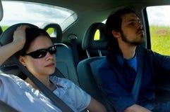 Viaggio stradale di distensione Fotografia Stock