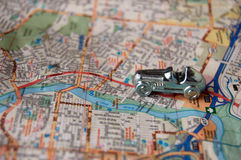 Viaggio stradale di viaggio intorno al mondo Fotografia Stock