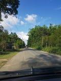 Viaggio stradale nell'Assam fotografia stock