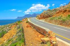 Viaggio stradale sull'itinerario 44 Fotografia Stock Libera da Diritti