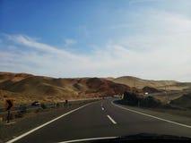Viaggio stradale via Panamerica immagini stock