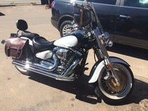 Viaggio su misura del motociclo in Colorado Immagini Stock Libere da Diritti