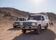 Viaggio sul deserto vicino a Hurghada Fotografia Stock Libera da Diritti