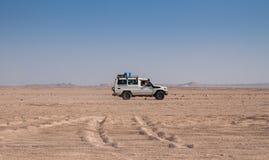 Viaggio sul deserto vicino a Hurghada Fotografie Stock Libere da Diritti