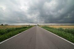 Viaggio sul paese del Po del di delta Fotografie Stock Libere da Diritti