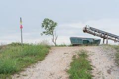 Viaggio sul paese del Po del di delta Fotografia Stock
