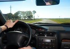 Viaggio sull'automobile Fotografia Stock