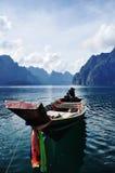 Viaggio a Surat-Thani a sud della Tailandia Fotografie Stock Libere da Diritti